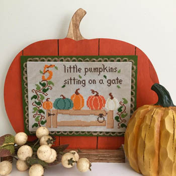 click here to view larger image of Five Little Pumpkins (chart)