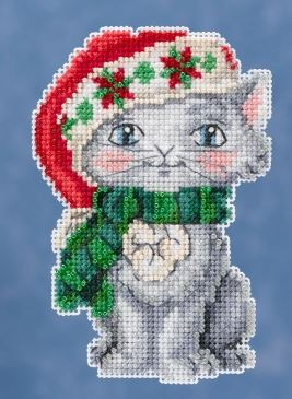 click here to view larger image of Kitty (counted cross stitch kit)
