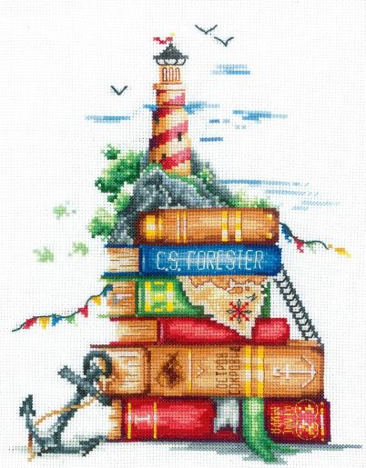 click here to view larger image of Sea Stories (counted cross stitch kit)