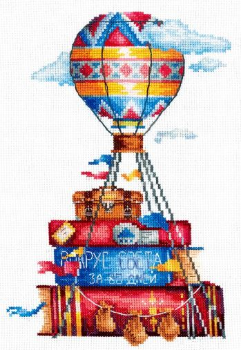 click here to view larger image of Travel Stories (counted cross stitch kit)