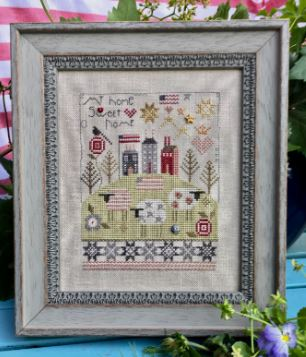 click here to view larger image of My Home Sweet Home (counted cross stitch kit)