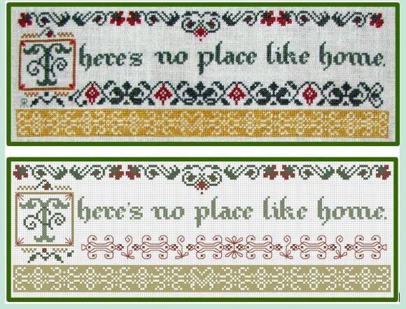 click here to view larger image of Theres No Place Like Home (chart)