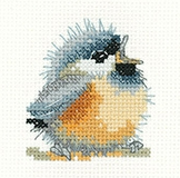 click here to view larger image of Chirpy (counted cross stitch kit)