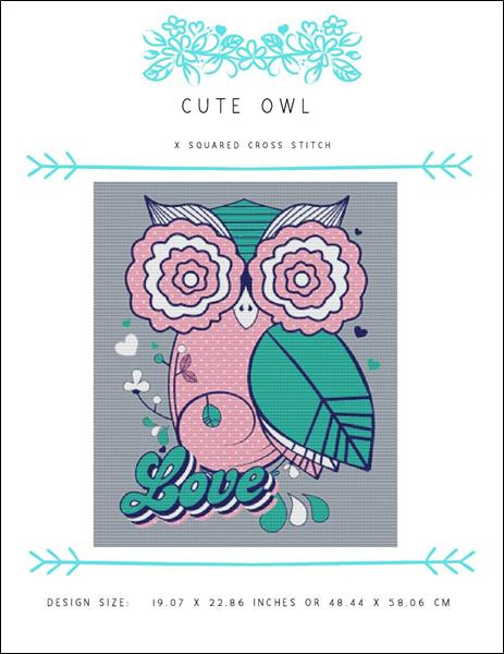 click here to view larger image of Cute Owl (chart)