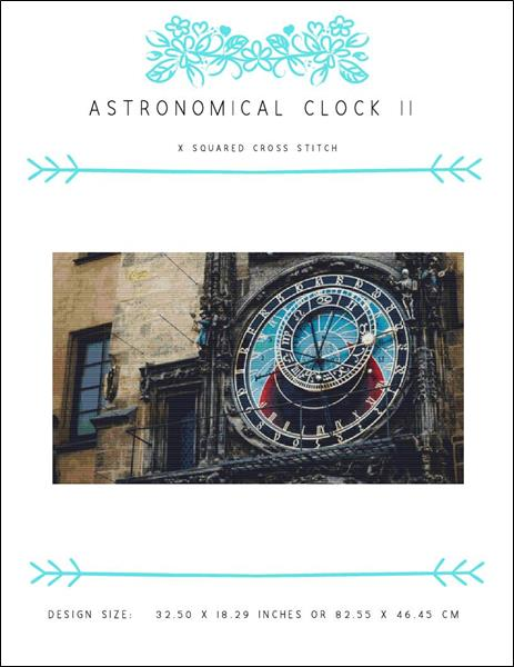 click here to view larger image of Astronomical Clock II (chart)