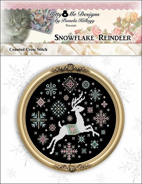 click here to view larger image of Snowflake Reindeer (chart)