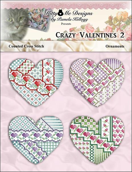 click here to view larger image of Crazy Valentine Ornaments 2 (chart)