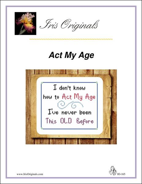 click here to view larger image of Act My Age (chart)