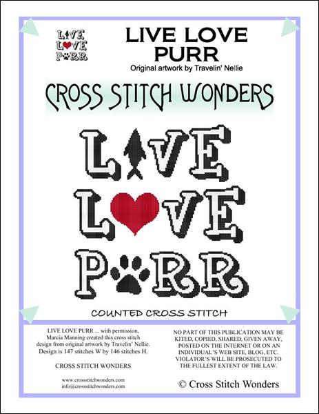 click here to view larger image of Live Love Purr (chart)