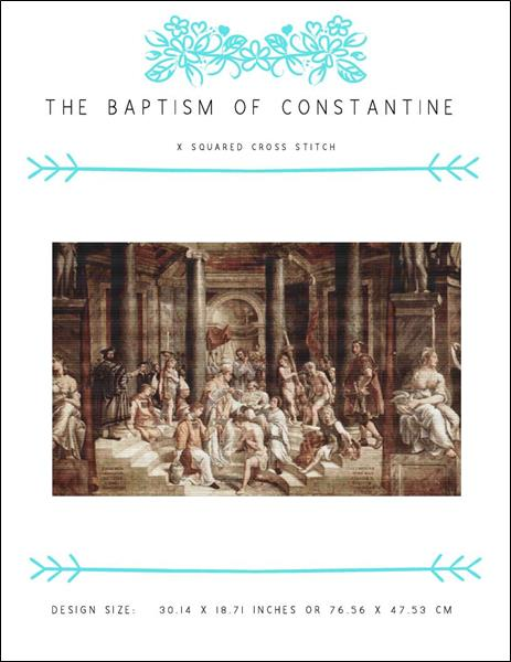 click here to view larger image of Baptism of Constantine, The (chart)