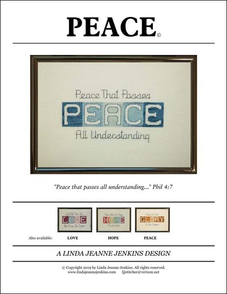 click here to view larger image of Peace (chart)