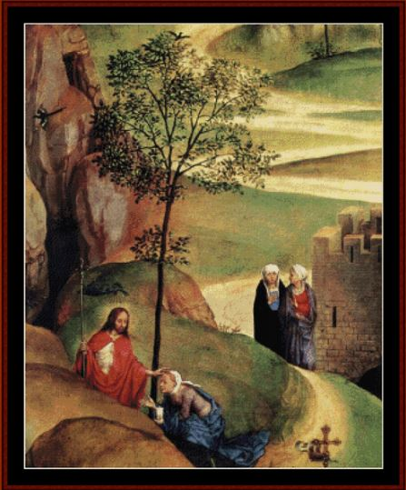 click here to view larger image of Advent and Triumph of Christ (Hans Memling) (chart)
