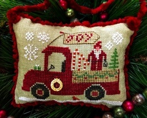 click here to view larger image of Christmas Joy Truck - Country Spirits Collections (chart)