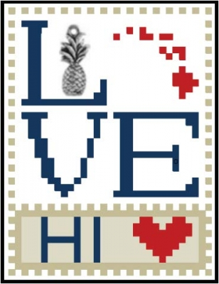 click here to view larger image of Love Bits States - Love Hawaii (chart)