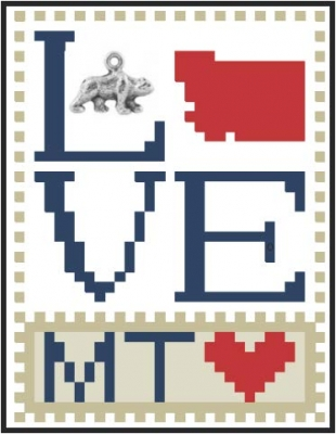 click here to view larger image of Love Bits States - Love Montana  (chart)