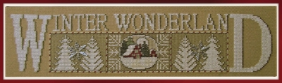 click here to view larger image of Winter Wonderland - Charmed I (chart)