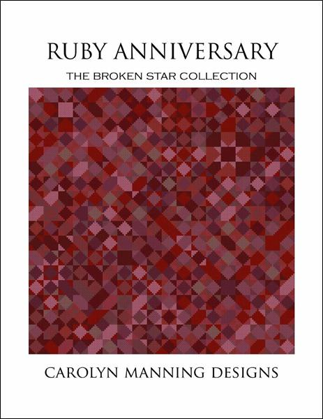 click here to view larger image of Ruby Anniversary (Broken Star Collection) (chart)