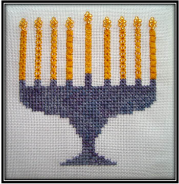 click here to view larger image of Menorah (chart)