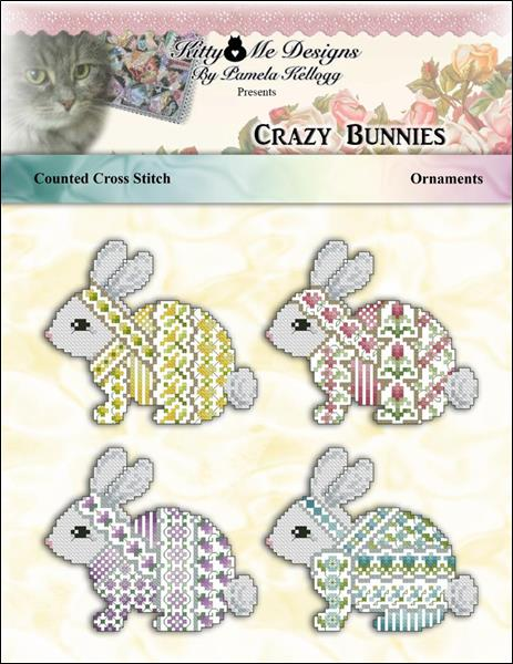 click here to view larger image of Crazy Bunnies Ornaments (chart)