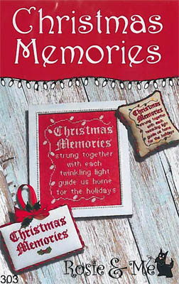 click here to view larger image of Christmas Memories (chart)