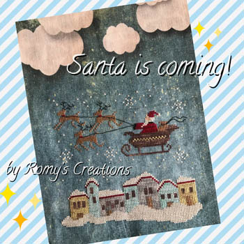 click here to view larger image of Santa Is Coming (chart)
