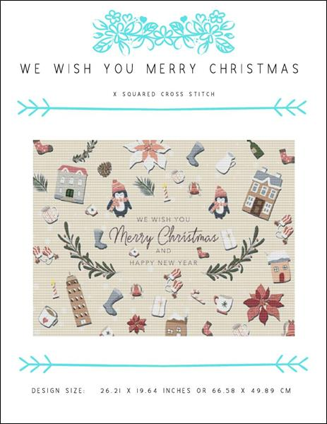click here to view larger image of We Wish You Merry Christmas (chart)