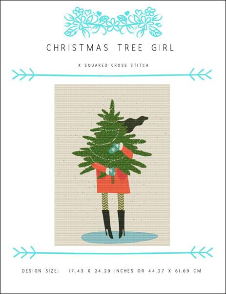 click here to view larger image of Christmas Tree Girl (chart)