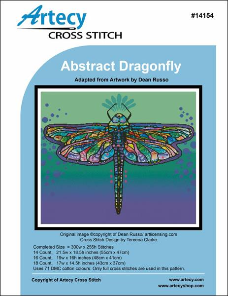 click here to view larger image of Abstract Dragonfly (chart)