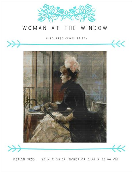 click here to view larger image of Woman at the Window (chart)