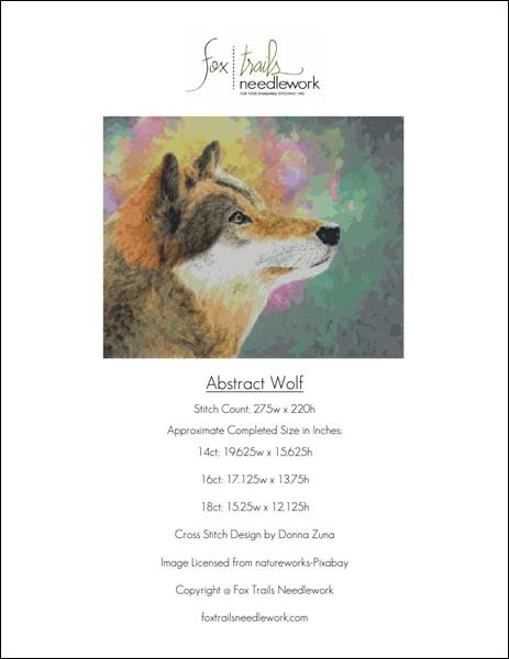 click here to view larger image of Abstract Wolf (chart)