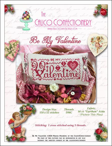 click here to view larger image of Be My Valentine (chart)