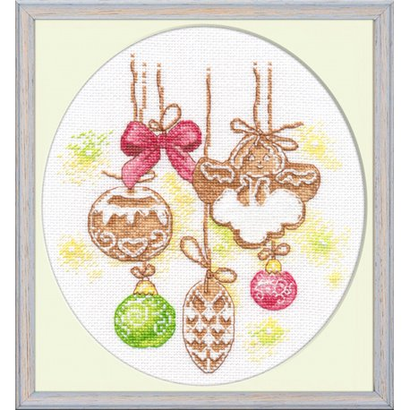 click here to view larger image of Gingerbread (counted cross stitch kit)