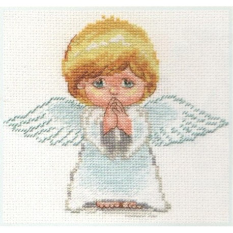 click here to view larger image of My Angel (counted cross stitch kit)