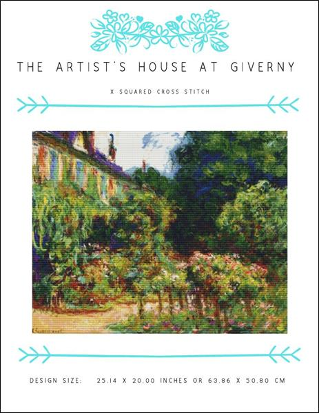 click here to view larger image of Artist's House at Giverny, The (chart)