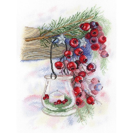 click here to view larger image of Berry Charm (counted cross stitch kit)