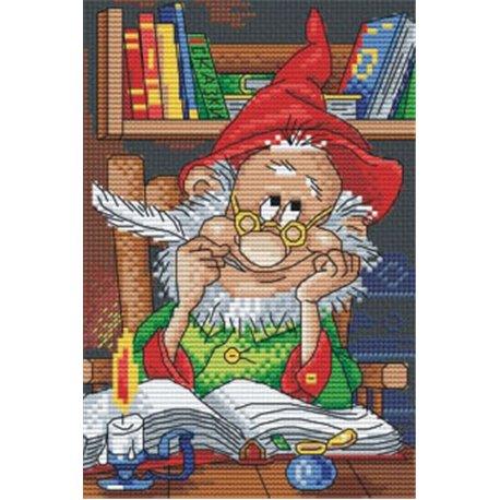 click here to view larger image of Inspiration (counted cross stitch kit)