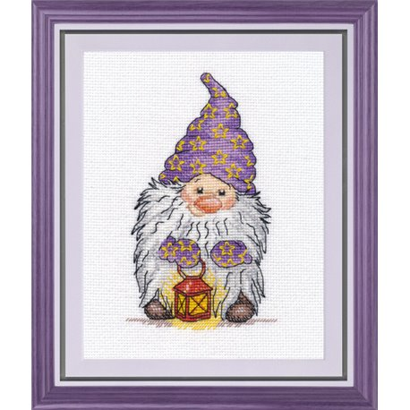 click here to view larger image of Keeper of Light (counted cross stitch kit)