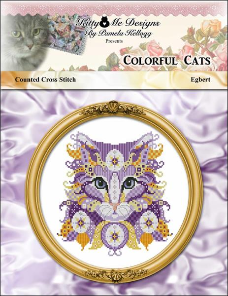 click here to view larger image of Colorful Cats - Egbert (chart)