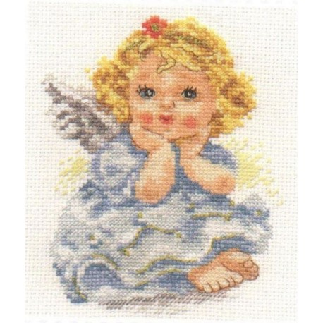 click here to view larger image of Angel of Dream (counted cross stitch kit)