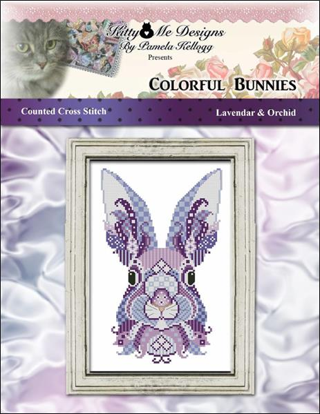 click here to view larger image of Colorful Bunnies Lavender and Orchid (chart)