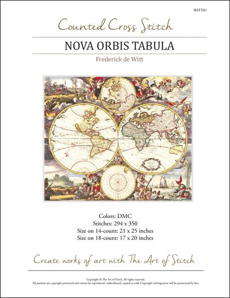 click here to view larger image of Nova Orbis Tabula (chart)