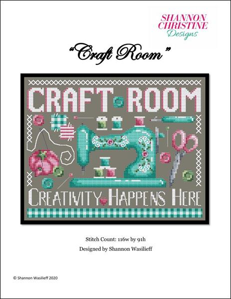 click here to view larger image of Craft Room (chart)