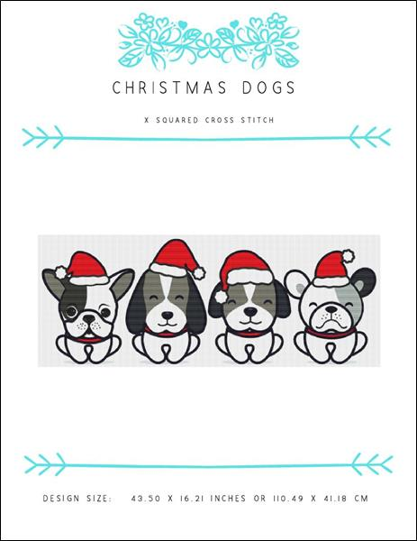 click here to view larger image of Christmas Dogs (chart)