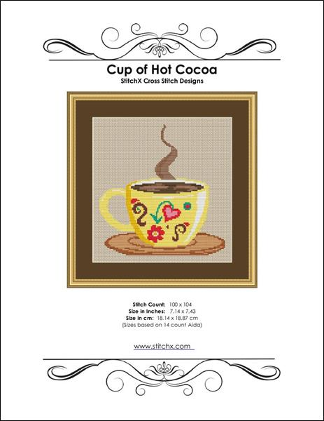 click here to view larger image of Cup of Hot Cocoa (chart)