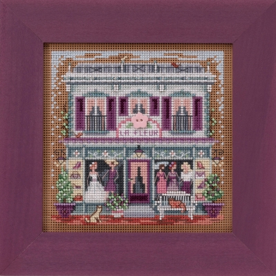 click here to view larger image of La Fleur Boutique (2020) (counted cross stitch kit)