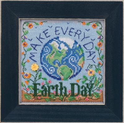 click here to view larger image of Earth Day (2020) (counted cross stitch kit)
