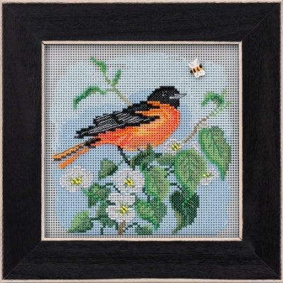 click here to view larger image of Baltimore Oriole (2020) (counted cross stitch kit)