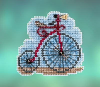 click here to view larger image of Vintage Bicycle (2020) (counted cross stitch kit)