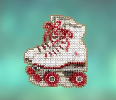 click here to view larger image of Roller Skates (2020) (counted cross stitch kit)