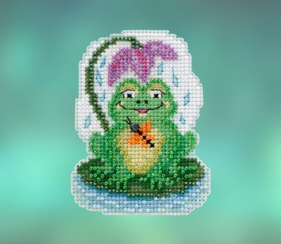 click here to view larger image of My Pad (2020) (counted cross stitch kit)